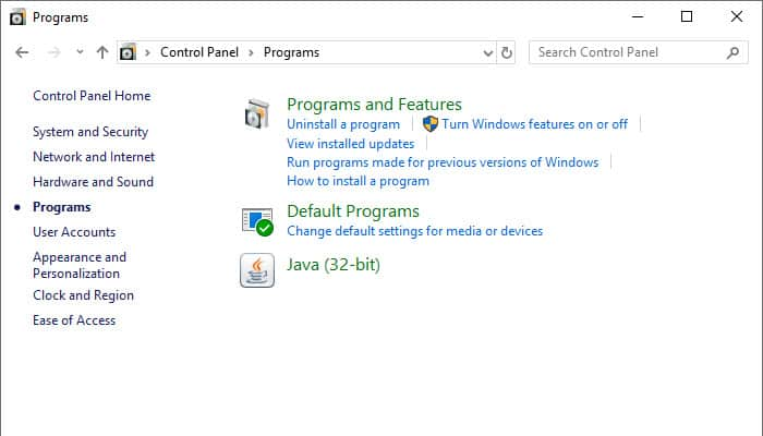 How to clear the Java cache on Windows
