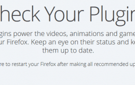 How to check and update Firefox plugins