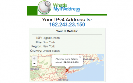 How to find an IP address geographic location