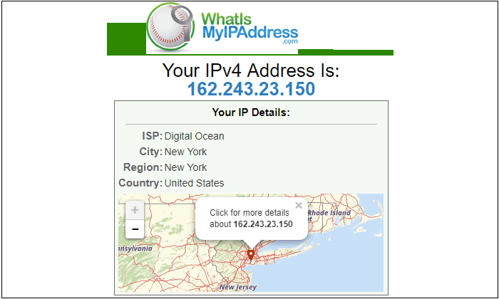 How to look up your own IP address