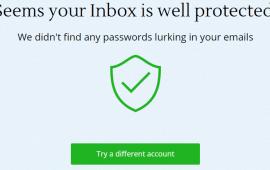 Inbox Scan locates sensitive information and hidden vulnerabilities
