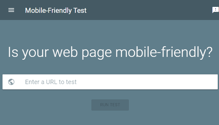 How to run a free mobile-friendly test