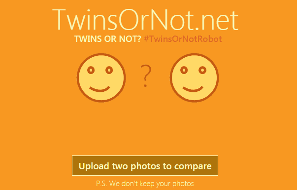 New site built with Azure services helps you find your twin