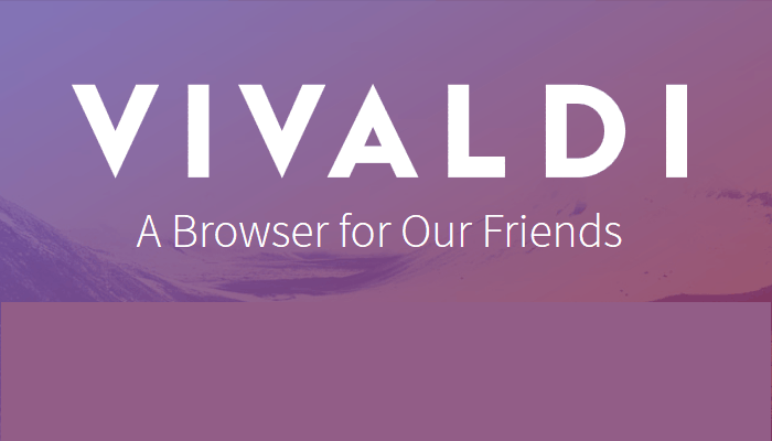 What is the Vivaldi web browser?