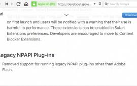 Java support in Safari 12