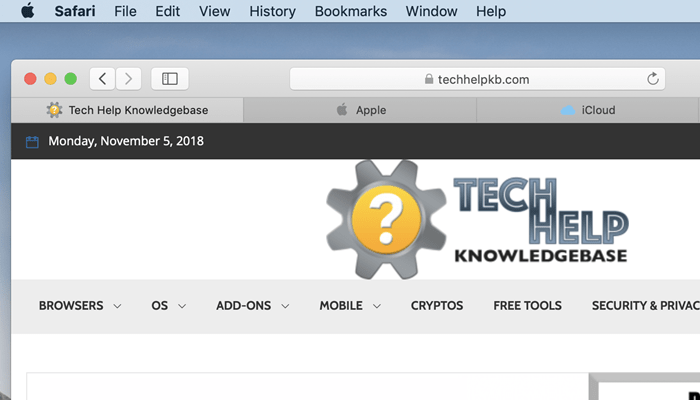 How to show website icons in Safari tabs