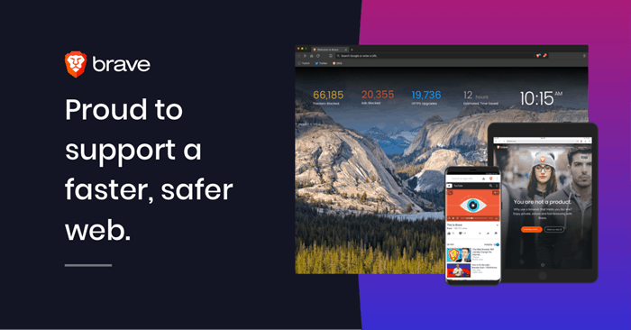 Brave is the Better Browser