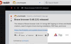 Brave Browser 0.68.131 Released