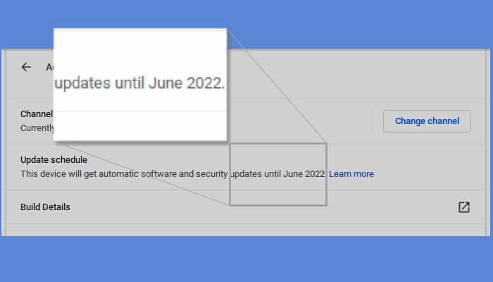 When will a Chromebook expire?